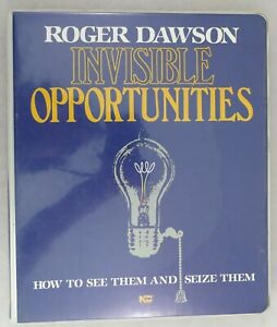 Invisible-Opportunities-Roger-Dawson-Course-Book-amp-Cassettes-Self-Help-Audio