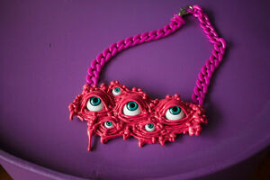 DRIPPING-NECKLACE-ROSE-Emo-Punk-Goth