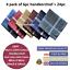 100-Mens-Cotton-Handkerchiefs-Large-Gents-King-Size-White-Dark-Color-Lot thumbnail 27
