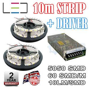 10m-12v-Rosa-Guirnalda-LED-150w-Driver-5050-IP65-300smd-60smd-M-BRILLO