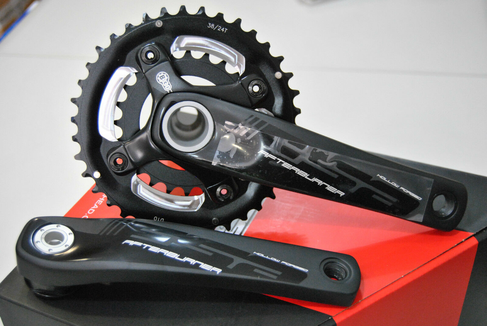 CRANKSET MTB Fsa AFTERBURNER BB30 38 24T 175mm CRANKSET FSA afterburner 38 24