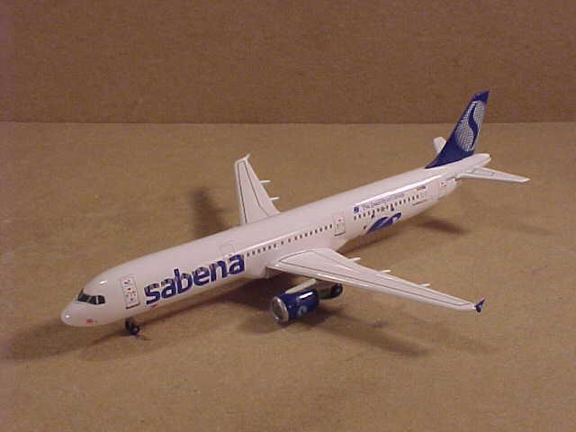 drake vinges 1  400 Pressofuso flygbusss A311 -211 Sabena 35;Oo -Succeasärskilde