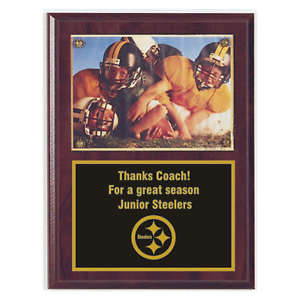 Photo Plaque Award Graduation Award 6X8 Trophy Plaque Retirement Plaque