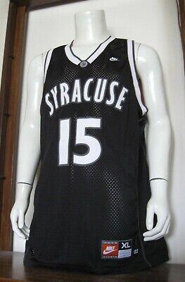 Xl Men Nike Carmelo Anthony Syracuse Orange Ncaa Basketball Jersey Black Euc Ebay