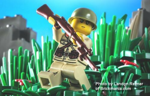 BrickArms ARISAKA Rifle with Bayonet for Minifigures Japan WWII Soldier NEW!