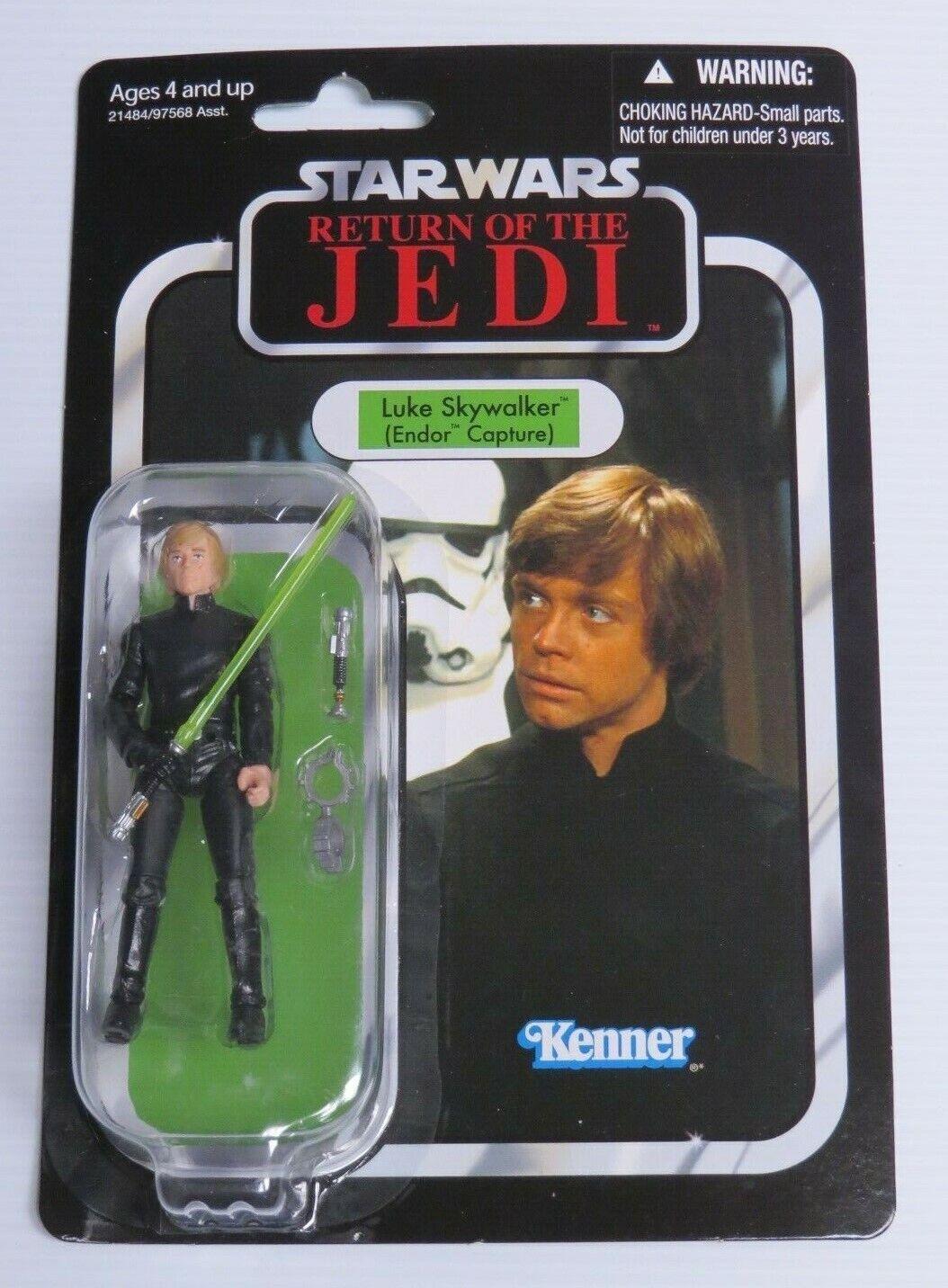 Star Wars Luke Skywalker Endor Capture figurine scellé VC23 Retour du Jedi