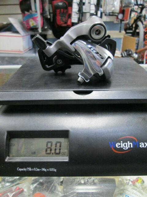 Shimano 105 Rd-5701 10 Speed Short Double Rear Derailleur Road Bike Black