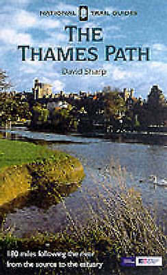 """""""AS NEW"""" Sharp, David, The Thames Path (National Trail Guide), Paperback Book"""