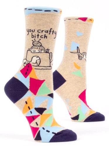 Women/'s Socks Funny RUDE Hilarious Novelty Amusing Cheeky Gift Present Crafty