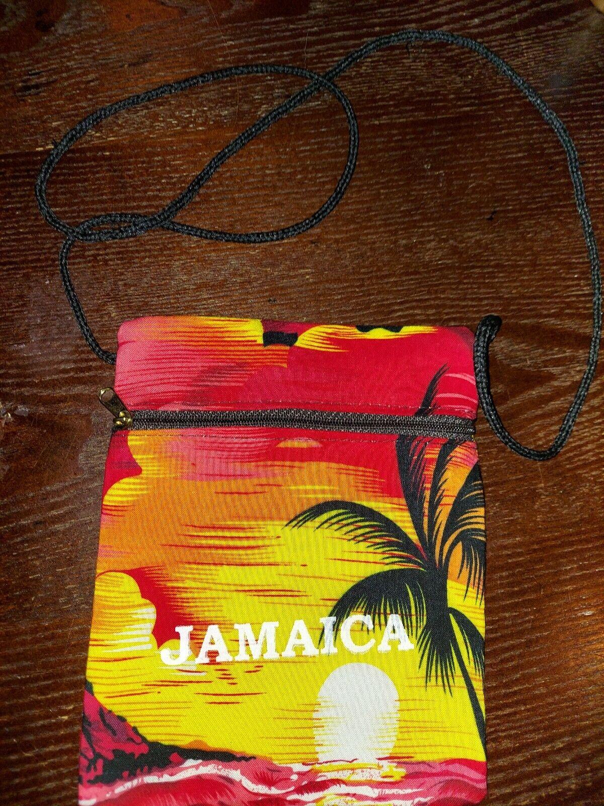 Small Purse Summer Scene Jamaica