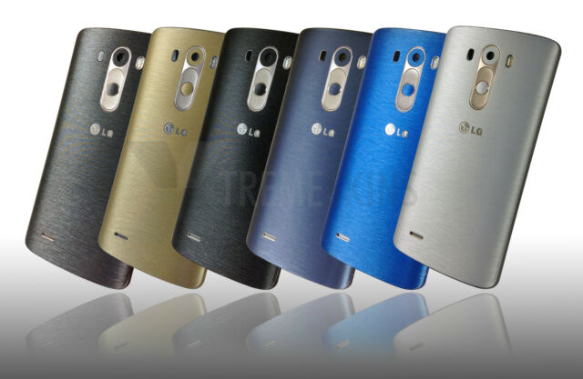 Brushed Metal Skin Sticker For LG G3 D855 Decal Wrap Cover Protector Case