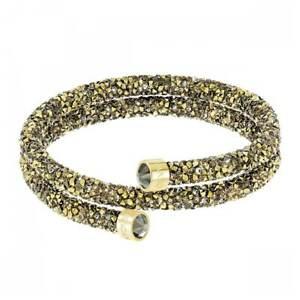 Swarovski-Women-039-s-Bracelet-Crystaldust-Double-Wrap-Multicolored-Small-5373047