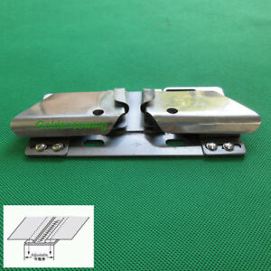 Zipper Attachtment /& Folder For Double Needle Machines Juki 1560 Consew 339