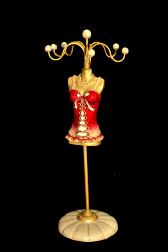 Beautiful Mannequin Jewellery Stand Tree Display Necklace Holder Lady