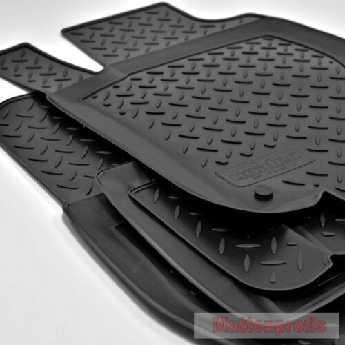 3D Gummifußmatten Gummimatten für Mercedes ML M-Klasse W164 ab 2005-2011 NPL