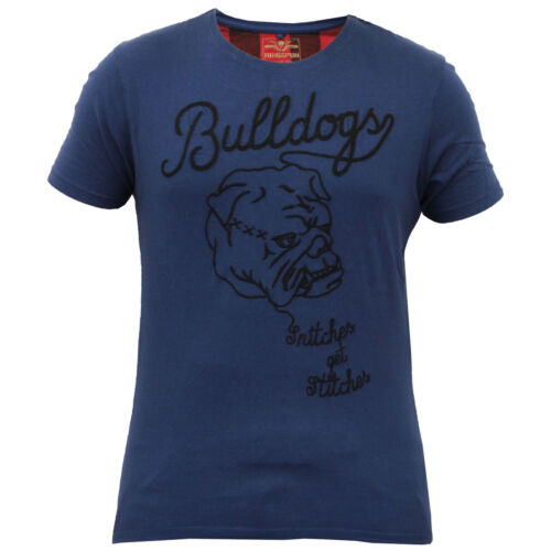 Mens Short Sleeved Embroidered T Shirt By Ringspun