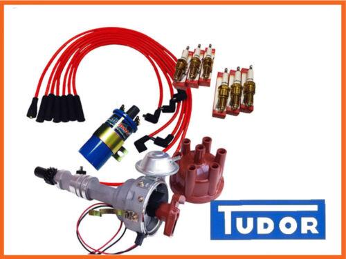 FORD Essex V6 2.5 e 3.0 Distributore di accensione elettronica Pack Red LEAD