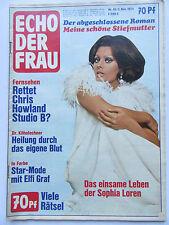Echo der Frau 45/1974, Sophia Loren, Elfie Graf, Chris Howland, Mary Roos, Last