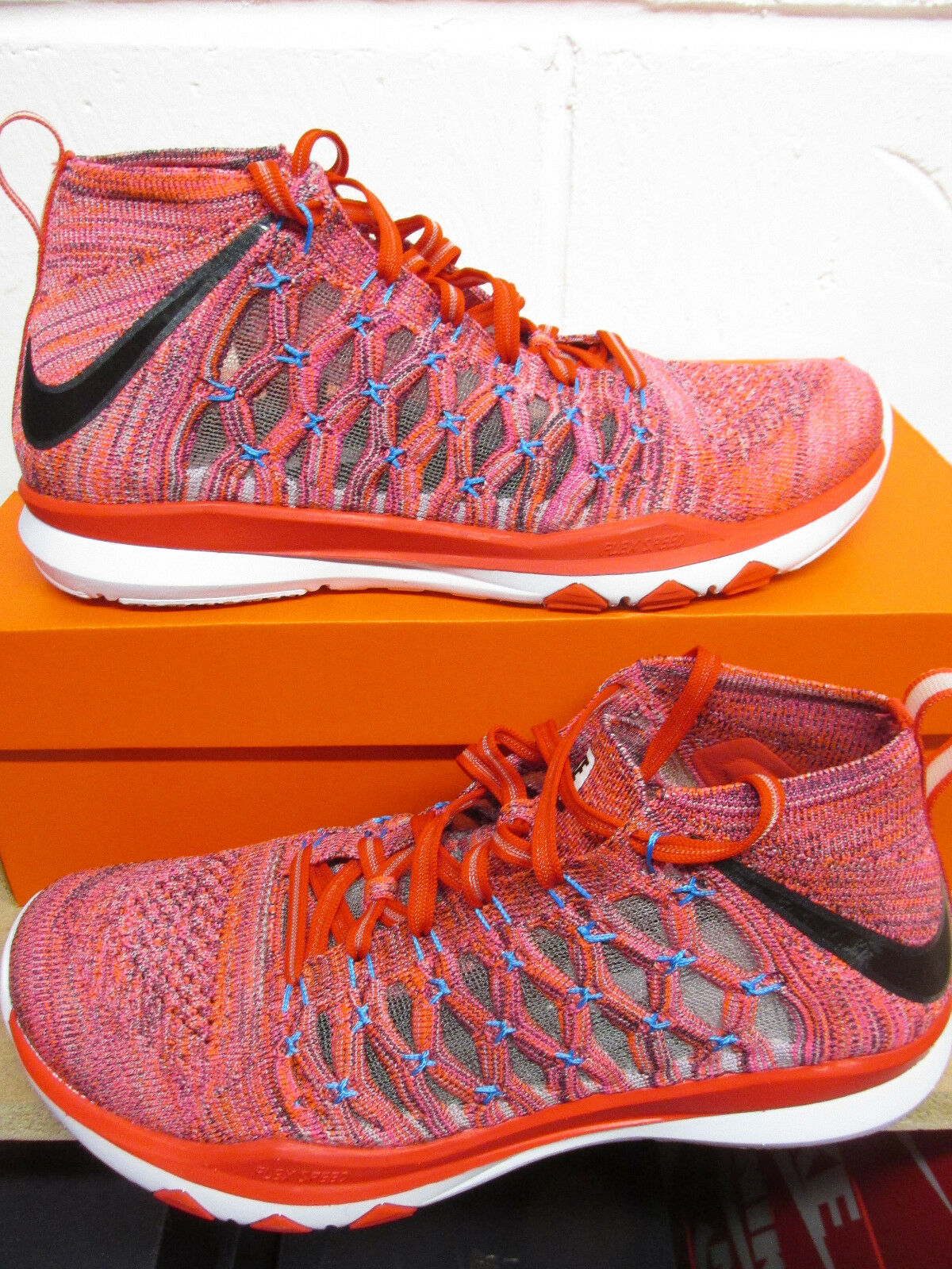 Nike Train Ultrafast Flyknit Mens Running Trainers 843694 500 Sneakers Shoes