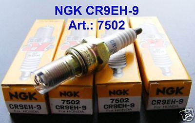 4X Zündkerze NGK CR9EH-9 7502 Honda CBF 600 N