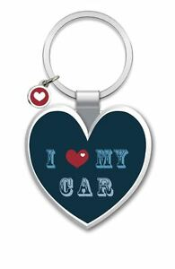 LITTLE WISHES KEYRING - I HEART MY CAR