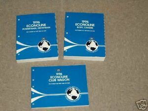 1996-Ford-Econoline-Van-Shop-Service-Repair-Manual-Set-Includes-EVTM