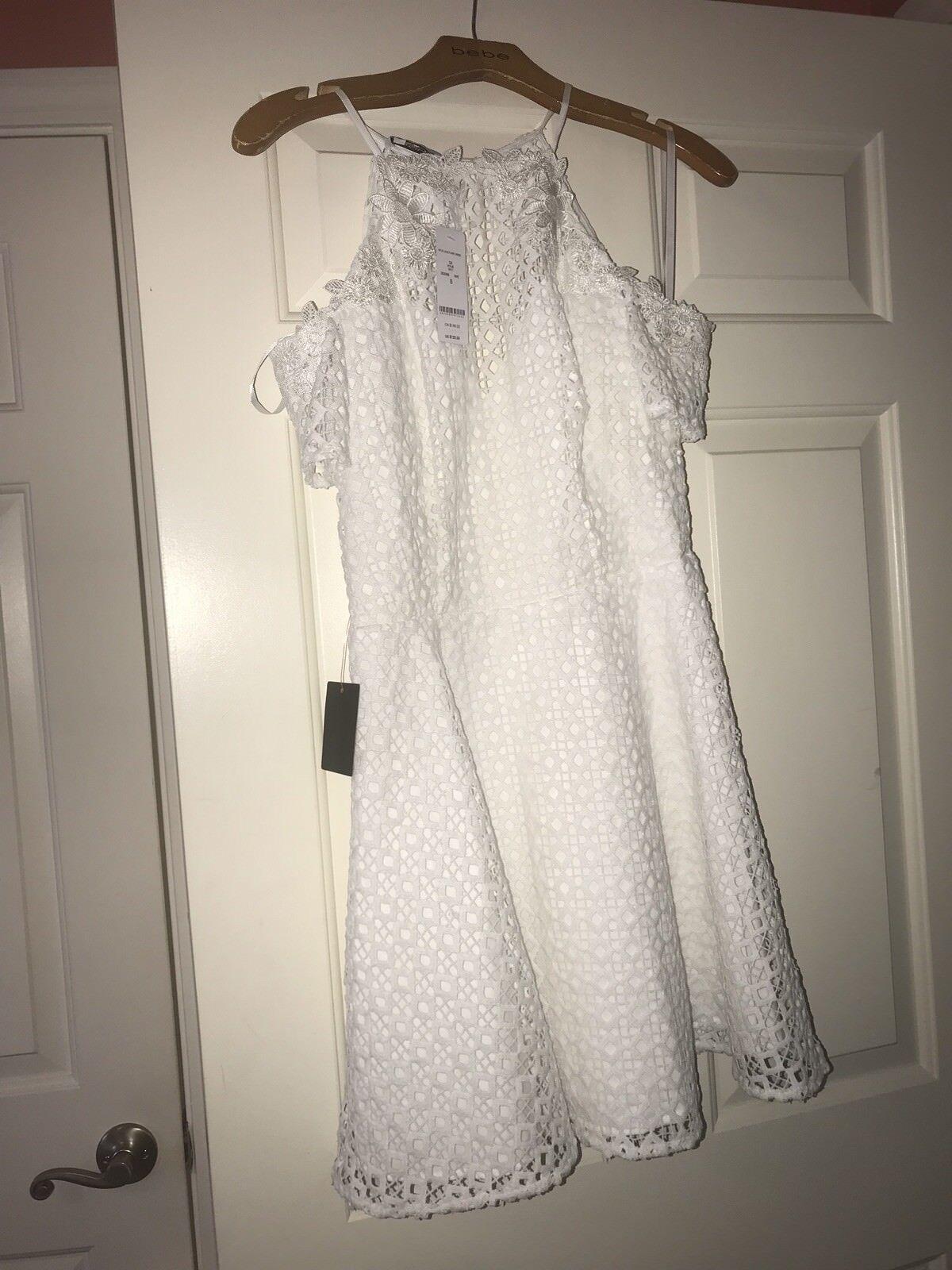 Bebe Lace Flared Dress NWT RETAIL    129 4adcd5