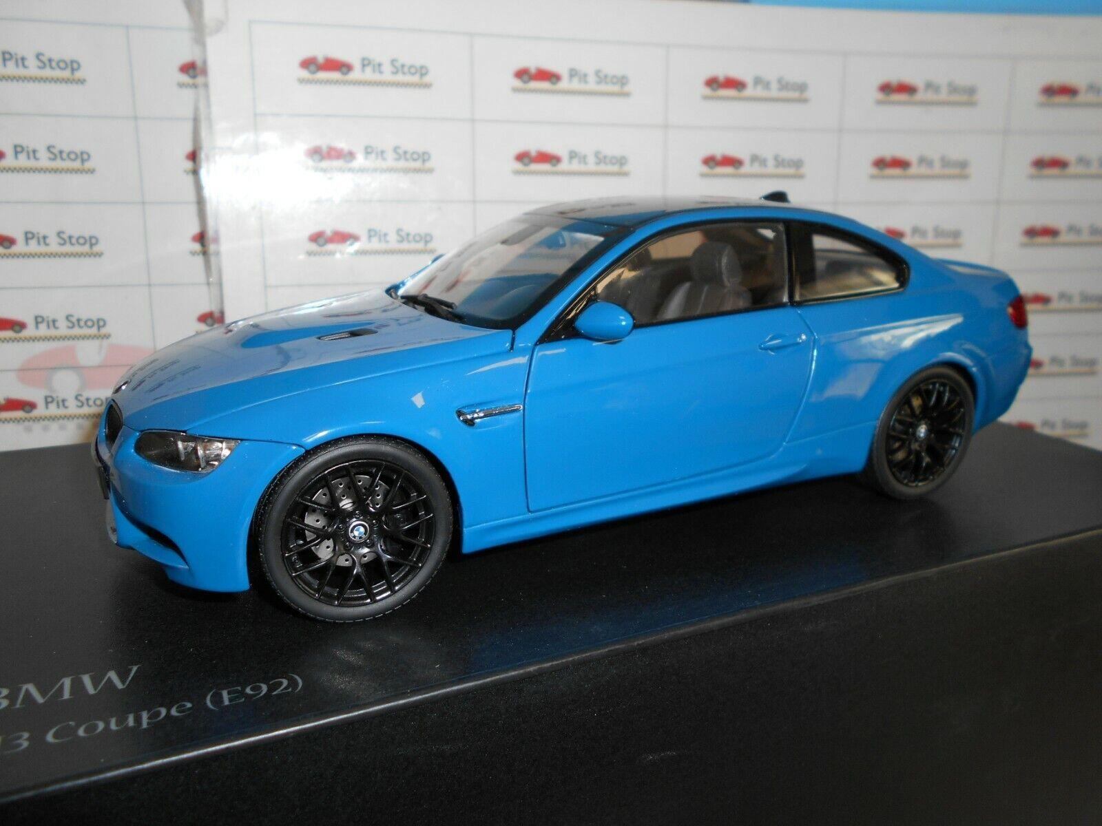 KYO08734LBL by KYOSHO BMW M3 COUPE E92 blueE LAGUNA SECA 1 18
