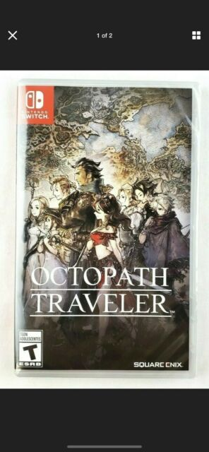Octopath Traveler Nintendo Switch Game New Sealed Square Enix Free Shipping