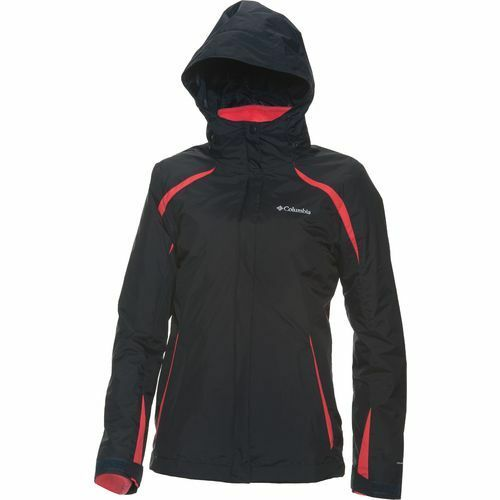 New $220 Columbia Sportswear Women's Blazing Star 3-in-1 Interchange Jacket
