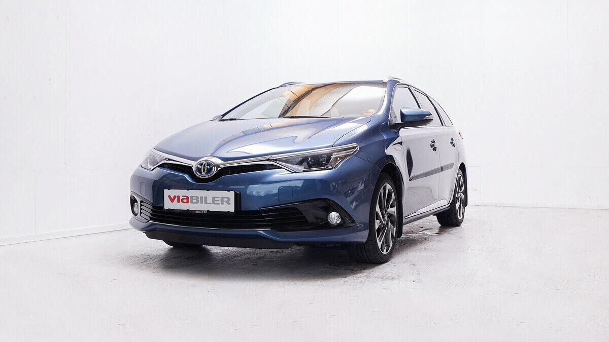 Toyota Auris 1,8 Hybrid H2 Style Touring Sports CVT 5d - 169.900 kr.
