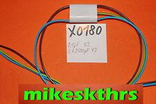 X0180 Entstörkondensator 0,1µF+2x2500pF Störschutzfilter 0,1uF+2x2,5nF