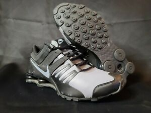 Mens Nike Shox Current Black Gray Size 11.5