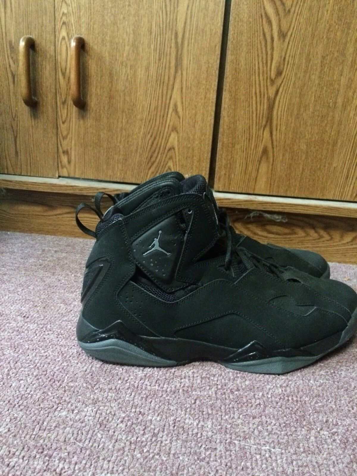 Jordan True Flight Black Basketball shoes. Comfortable Great discount