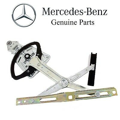 For Mercedes W124 Front Driver Left Electric Window Regulator w//o Motor Genuine