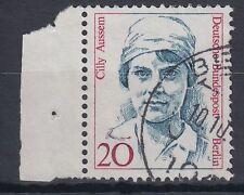Berlin Germany 1988 Θ Mi.811 Frauen Women Cilly Aussem Tennis [blg181]