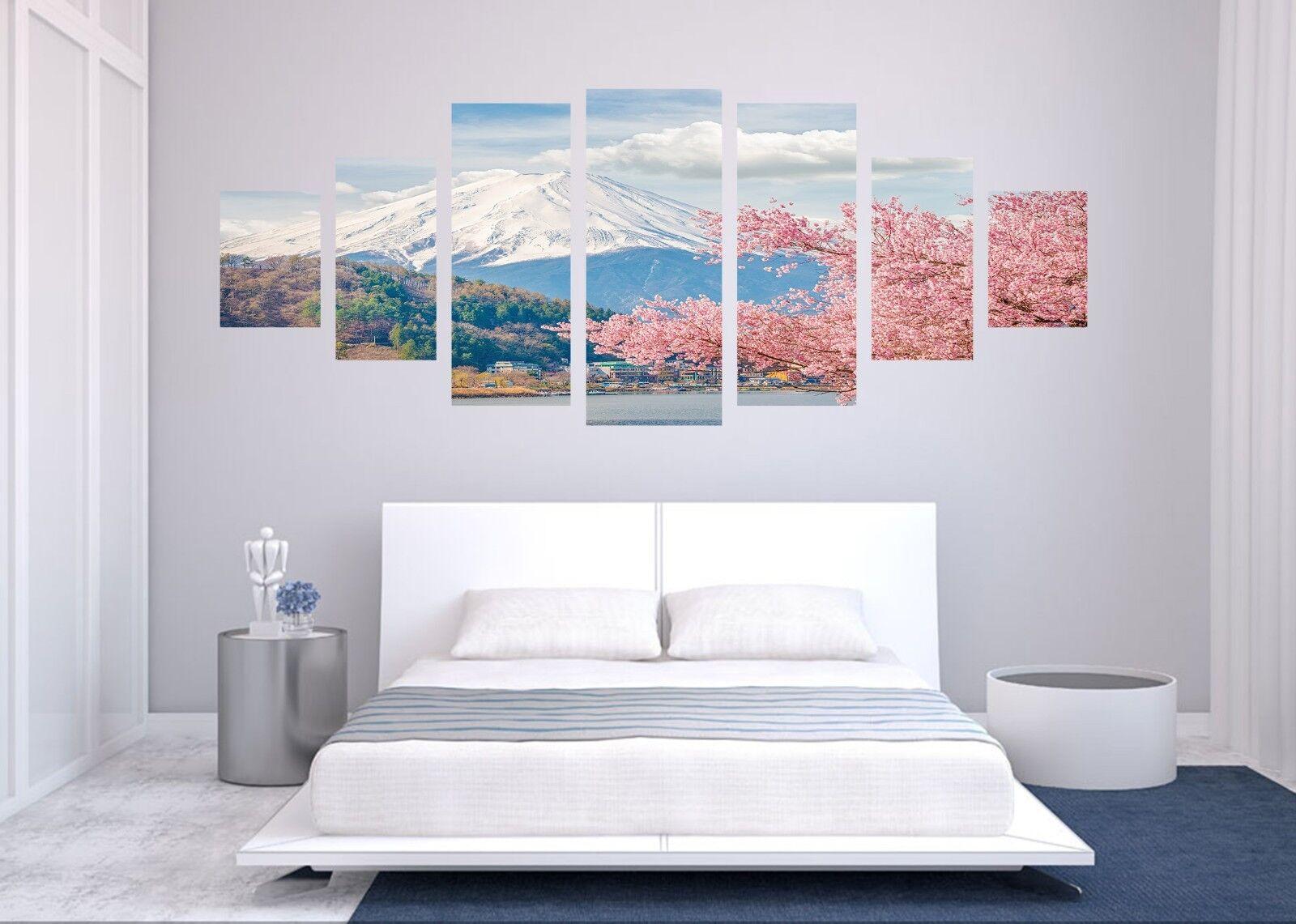 3D Sky Mount Fuji 566 Unframed Drucken Wand Papier Decal Wand Deco Innen AJ Wand