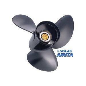 Yamaha Amita 3 Solas Hélice 3 Hoja Aluminio Utilería Borda Stern Drive Derecho