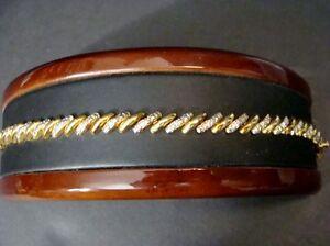 DBJ-925-Silver-Ladies-18kgp-bracelet-Vintage-BEAUTIFUL-Piece
