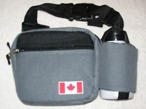 Fanny Pack Waist Bag Purse with Water bottle Lot of 12 Canada/Canadian FLAG NEW