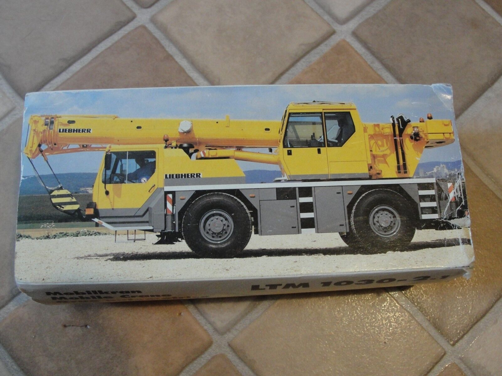 Nice and RARE LIEBHERR LTM1030-2.1