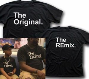 56db672fbe406 Details about Original and Remix, Funny T Shirt - Father, Son, Daughter,  Gift for Dad 5357