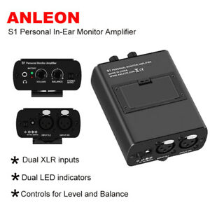 ANLEON-S1-Personal-Headphone-Amp-IEM-System-For-Keyboardist-Bass-Player-Drummers