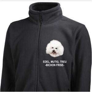Dog Giacca di in Bichon Frise pile Siviwonder Ricamo wzf0qTw