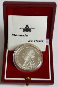 France-100-Francs-1987-La-Fayette-Silver-Proof