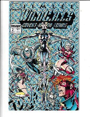 #1 2 3 4 1-4 SET JIM LEE 1992 WILDCATS COVERT COVERT ACTION TEAMS