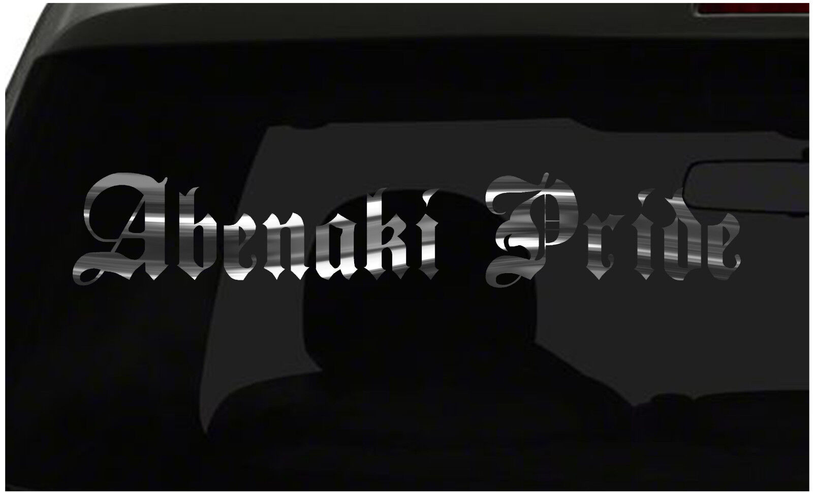 Abenaki orgullo calcomanía país orgullo pegatina de vinilo Todos Los Tamaños Y Colors ¡ Envío Rápido