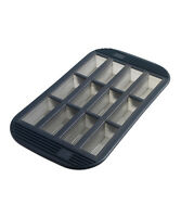 Mastrad 12 Cup Silicone Mini Loaf / Brownie / Cake Baking Pan / Mold