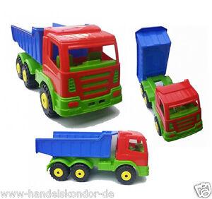 1-grosser-Kipper-Laster-Sandfahrzeug-Lademulde-LKW-Truck-Sandkasten-Spielzeug-NEU