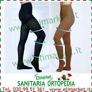 outlet modelli alla moda venduto in tutto il mondo Dettagli su Calze elastiche 180 den compressione graduata 23-26 mmHg gambe  varici cellulite